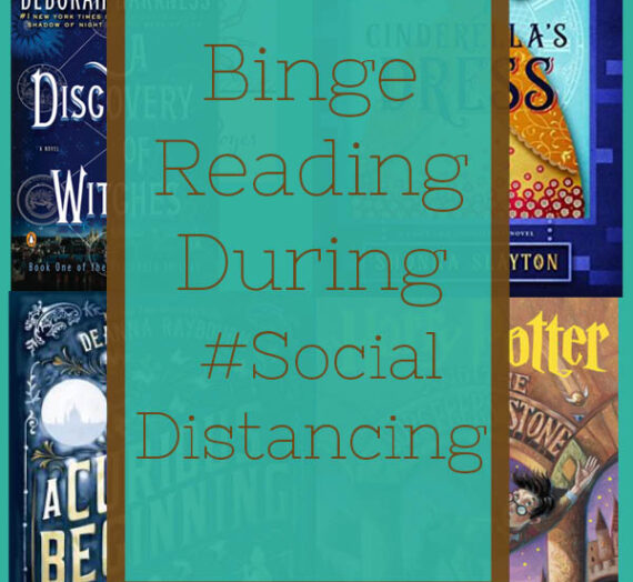 Binge Reading during #SocialDistancing