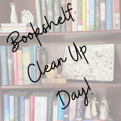 Bookshelf Clean Up Day!